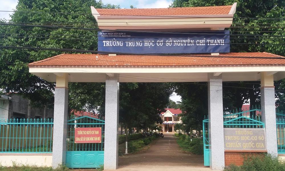 Trường THCS Nguyễn Chí Thanh