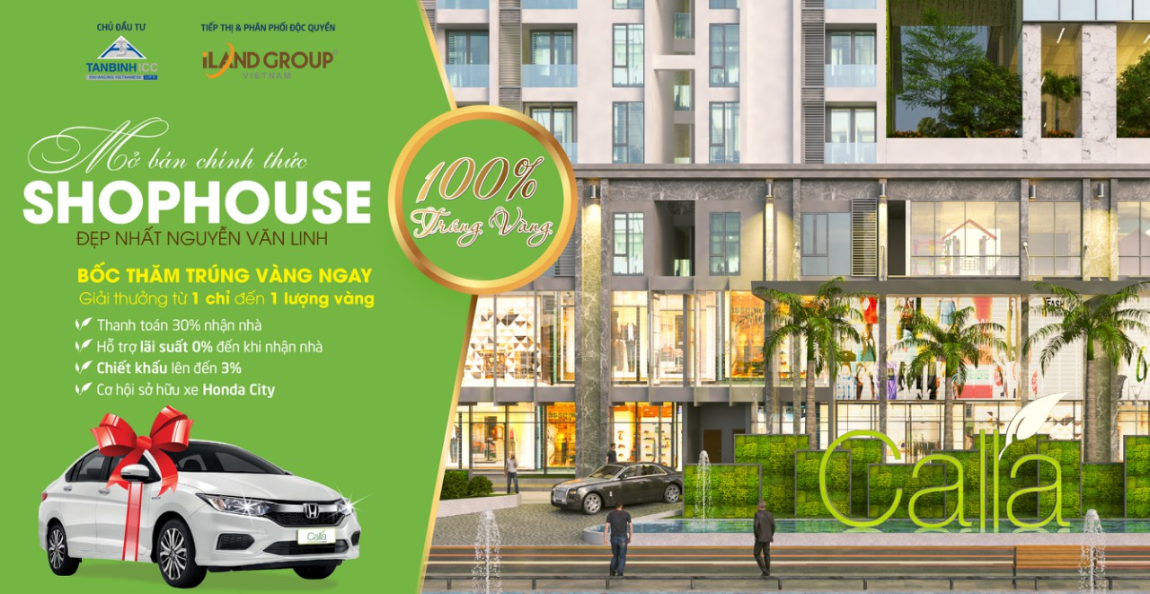 Mở bán Shophouse đẹp nhất Đại lộ Nguyễn Văn Linh