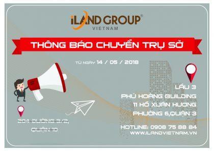 iLand Việt Nam chuyển trụ sở vào trung tâm thành phố